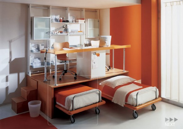 orange-active-kids-room-by-Mariani